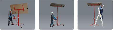 montaggio cartongesso soffitto sollevatore lastre pannello cartongesso piastra montaggio