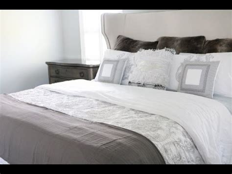 home goods comforter set master bed bedding linen haul tjmaxx target homegoods