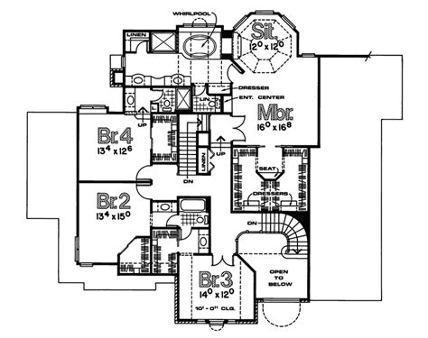 home bunker plans bunker bluff european home plan 026d 0119 house plans and more