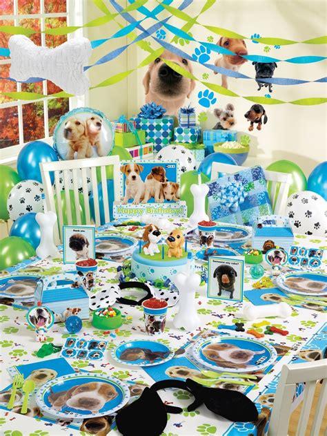 themed birthday party kits dog theme party supplies dog theme birthday party