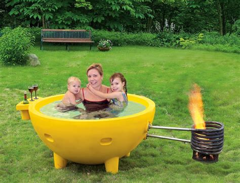 outdoor hot tub portable fire hot tub home design garden architecture