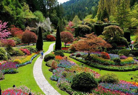 Butchard Gardens by Butchart Gardens In In Columbia