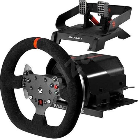 volante xbox one mad catz mad catz pro racing feedback wheel and pedals