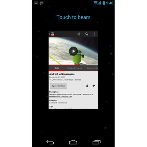 android beaming service best new features in sandwich