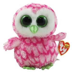 ty beanie boo bubbly owl
