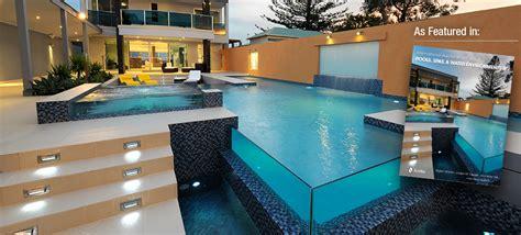 Concrete Backyard Award Winning Concrete Swimming Pool Amp Spa Builders