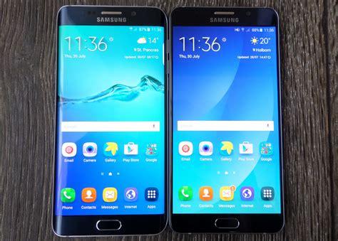 Samsung Galaxy S6 Note Pilih Samsung Galaxy S6 Atau Galaxy Note 5