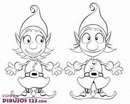 girl elf on the shelf coloring page image gallery