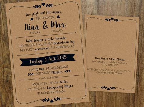 Einladung Hochzeit Vintage by Hochzeitseinladung Vintage Vintage And Hochzeit