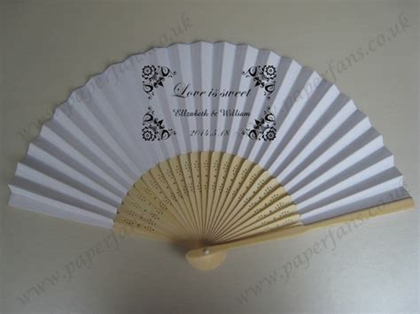 personalized paper fans personalized paper wedding fans printing 0 74
