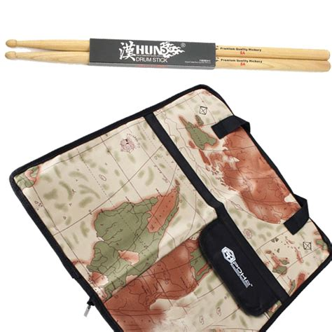 pattern for drum stick bag professional 5a 5b 7a drumsticks bag durable pvc map