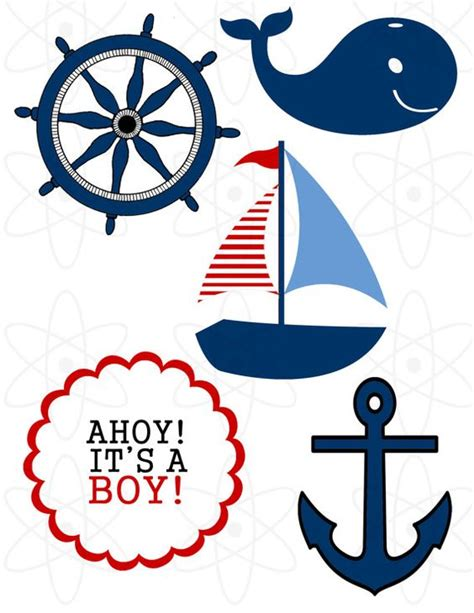 nautical themes nautical theme baby shower by atomdesign on etsy 6 00