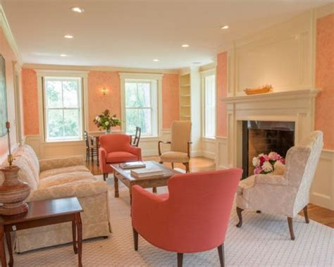 Livingroom Walls Peach Living Room Home Design Ideas Pictures Remodel And