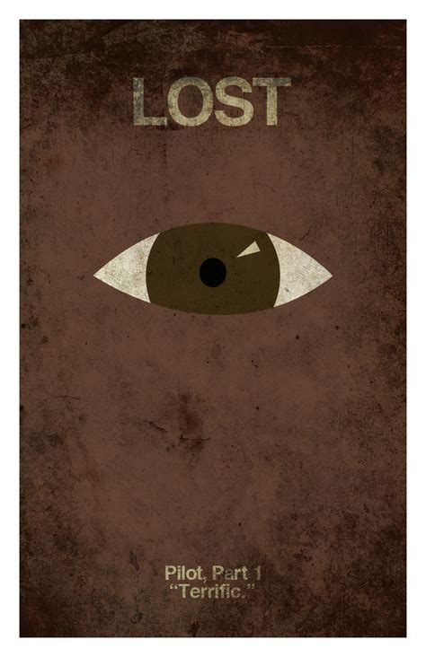 lost poster of the week artist sets out to create a poster for every lost episode geektyrant