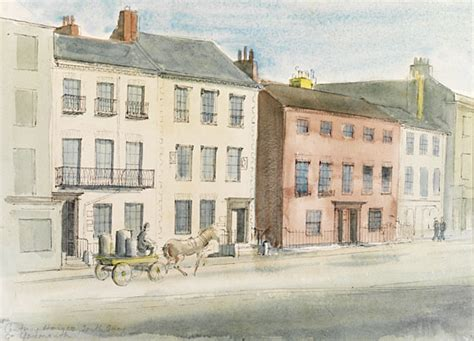 18th century houses memory maps selected paintings drawings victoria and albert museum