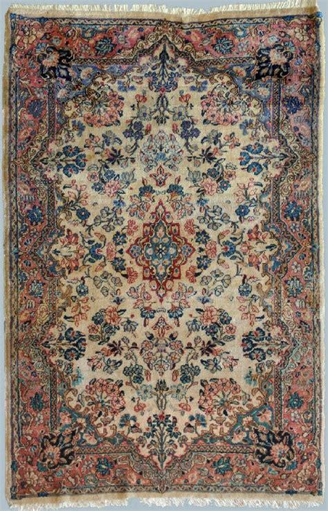 tappeti persiani kirman kirman antico tappeto zaronim chiaro morandi tappeti