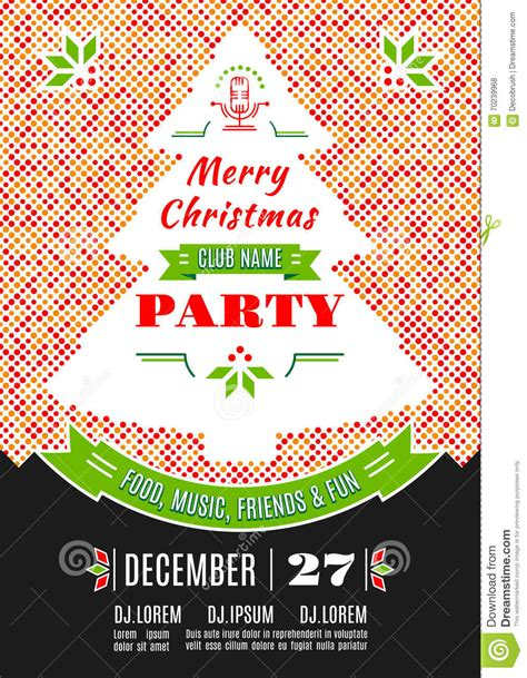 backdrop design christmas party christmas party poster design vector abstract background