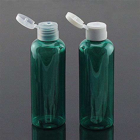 Botol 100ml Fliptop White 100ml plastic pet bottle with flip top caps cosmetic pet bottle in storage bottles jars from