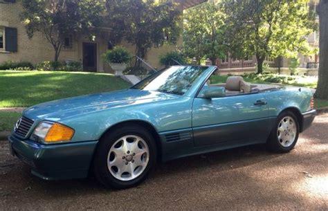 1992 mercedes benz 500sl german cars for sale blog