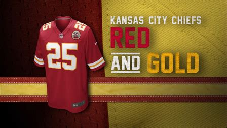 chiefs colors evolution of the chiefs colors nfl