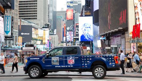 ford nfl times square ford trucks