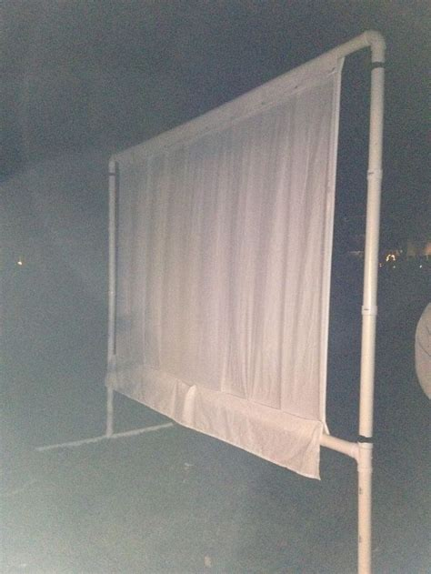 backyard projector screen diy 1000 ideas about outdoor projector on pinterest outdoor