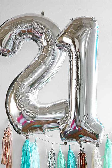 Urban Outfitters Gift Card Number - silver number 34 inch party balloon urban outfitters