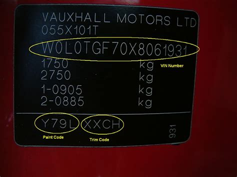 vauxhall paint codes car touch up paint car paint