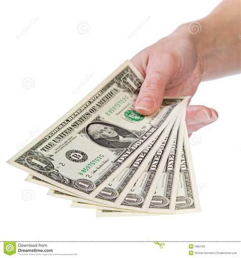 show me the money 1 dollar royalty free stock photo