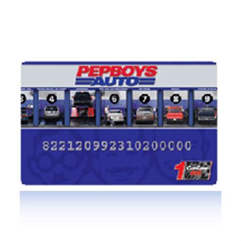 Pep Boys Gift Card - pep boys credit card