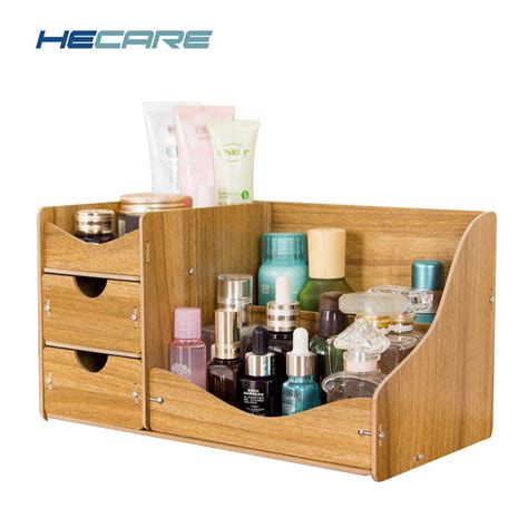 hecare jewelry storage container home storage wooden box handmade diy assembly