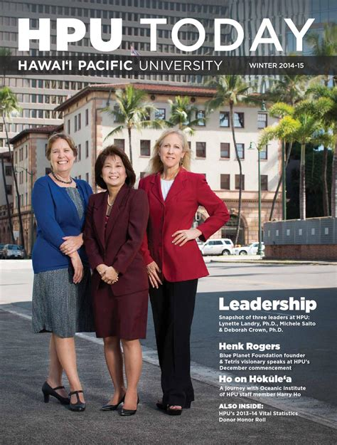 Http Www Hpu Edu Hpunews 2014 10 Mba Top Program Html by Hpu Today Winter 2014 By Hawaii Pacific Issuu