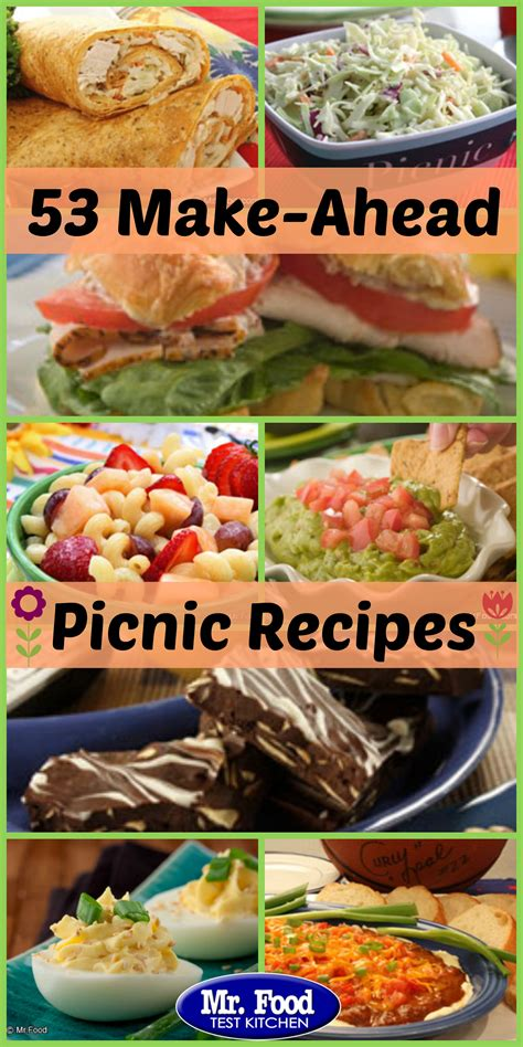 picnic recipes on pinterest picnic foods food network
