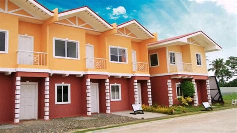 row house design row house design in the philippines youtube