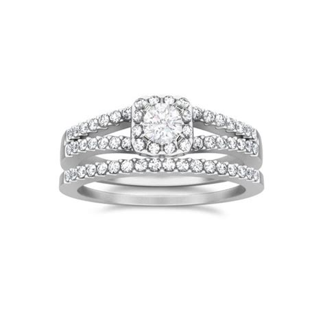 luxury unique wedding ring sets for