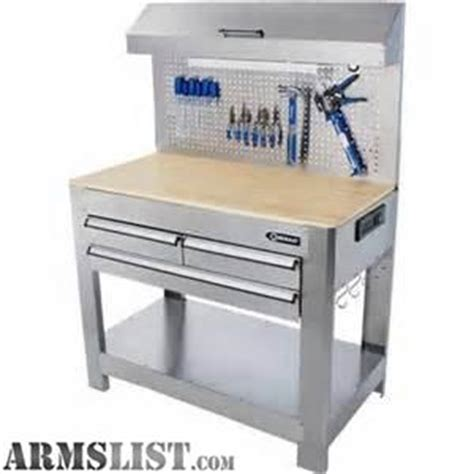 Kobalt 3 Drawer Workbench by Armslist For Trade Kobalt Ss Lighted Work Bench
