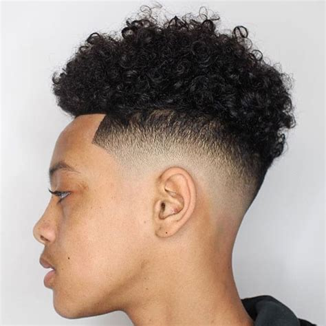 fade curly tops razor fade haircut men s haircuts hairstyles 2017
