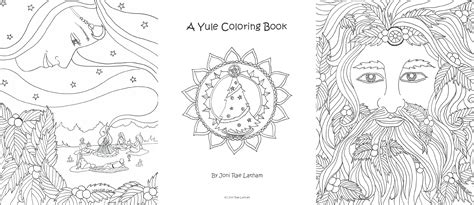 Yule Coloring Pages free coloring pages of solstice
