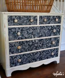 fabric dresser drawers s dresser makeover with fabric