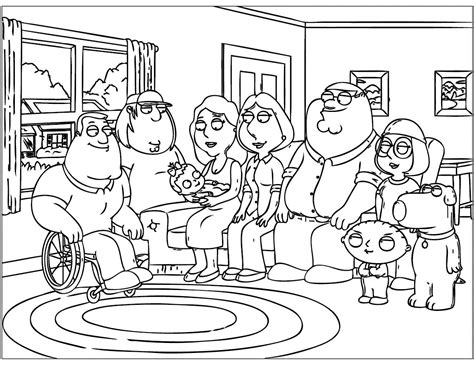 family guy coloring pages games family guy printable coloring pages coloring home
