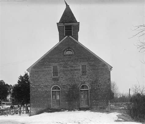 Stafford County Records File Union Church Facade Falmouth Stafford County Virginia Jpg