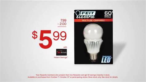 ace hardware light bulbs ace hardware tv spot led light bulbs ispot tv