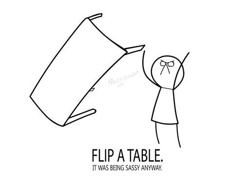Meme Flip Table - table throw rhony eating table flip meme flip table gif