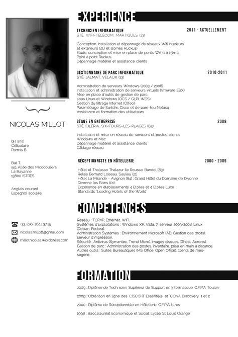 nicolas millot technicien informatique