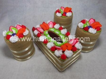 Paket 1 Tempat Aqua Gelas Hias Tissu pp 28 tempat tissue hias kain flanel coklat gallery toko