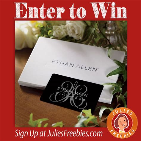 Ethan Allen Sweepstakes Entry - magical home sweepstakes julie s freebies