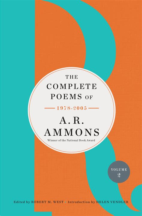 the complete poems of a r ammons volume 2 1978 2005 books the complete poems of a r ammons