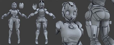 zbrush retopology tutorial bulma mk 01 the making of by genc buxheli page 2 of 2