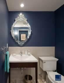 Navy Blue Tiles Bathroom » Home Design