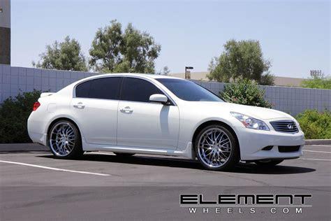 infiniti g35 chrome rims mrr gt1 chrome wheels on 08 g35s sedan g35driver